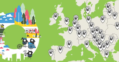 Go to EUROPEAN MOBILITY WEEK Participations Map